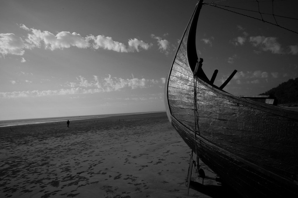 A fishing vessel sits on a beach in Teknaf Bangladesh, from where thousands of migrants take their chances at sea every year, seeking a better life elsewhere. Photo: MOAS/Robert Young Pelton