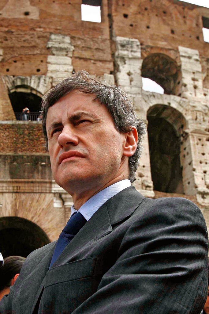 Gianni Alemanno former mayor of Rome is currently being investigated in Mafia Capitale