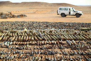Ammunition Libya Photo- UN: