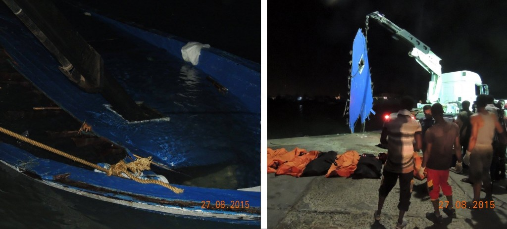 Composite Boat recovery 28.08