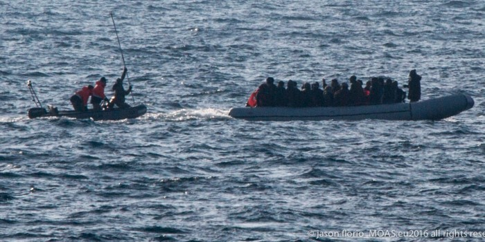 WATCH: Turkish Coast Guard Attack Refugee Boat