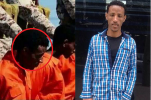 Tesfay Kidane, 30, was identified as one of three Eritreans who sought asylum in Israel before ending up in an infamous terror video from ISIS in Libya. He had accepting money to return to Africa under the country's controversial voluntary return programme.