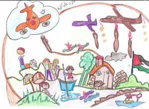 Gaza children drawings 6