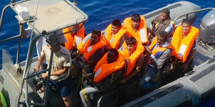 UNHCR Engages Libyan Coastguard to Help Improve Rescue