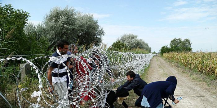 """They Beat us With Everything,"" Migrants at Hungarian Border"