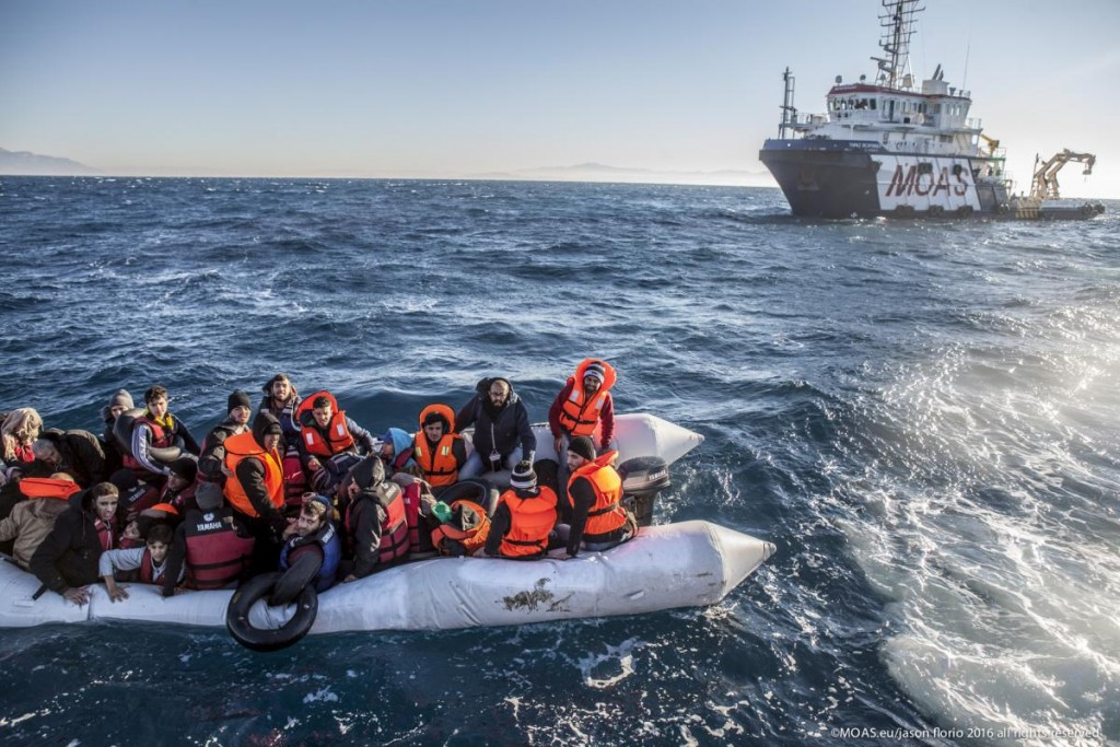 Photo: MOAS.eu/ Jason Florio.