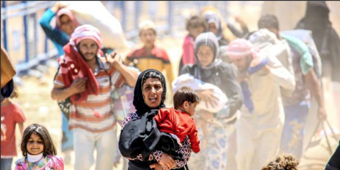 Four Million Syrians Fled War and Persecution