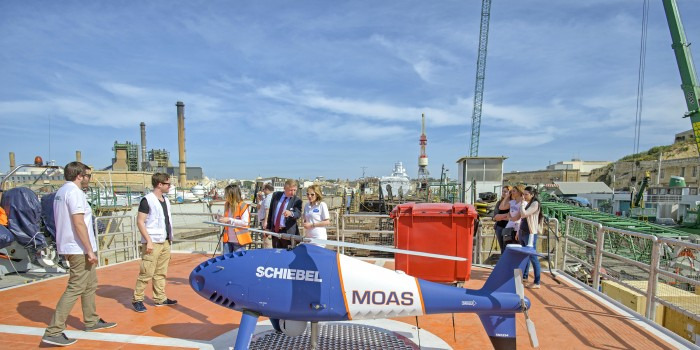 MOAS Drones to Stay in Flight Thanks to Drone Firm's Donation