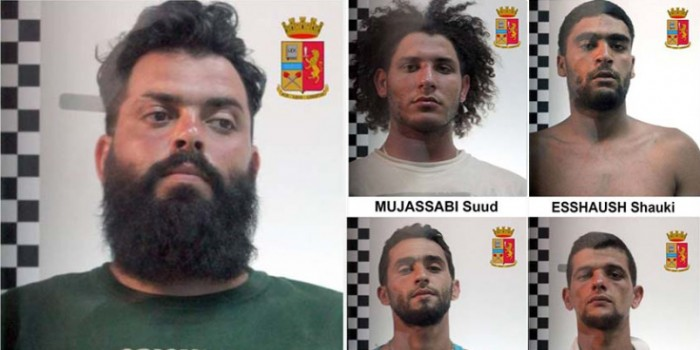 Five Algerian, Tunisian, Libyan 'Smugglers' Arrested as Survivors Say They Trapped Hundreds in Sinking Boat's Hold